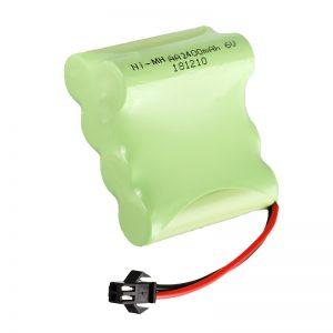 НиМХ пуњива батерија АА2400 6В пуњиви електрични алати за играчке Баттери Пацк