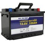 Замена ГЕЛ / АГМ соларне акумулаторске батерије 12в 100ах ЛифеПо4 литијум-јонска батерија