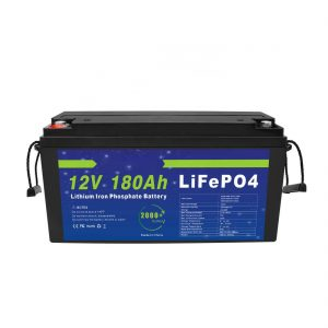 ЛиФеПО4 литијумска батерија 12В 180Ах за системе за складиштење соларне енергије за електричне бицикле