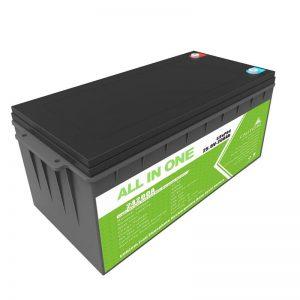 Дуготрајна пуњива резервна снага 12,8в 200ах ЛиФеПО4 батерија за голф колица