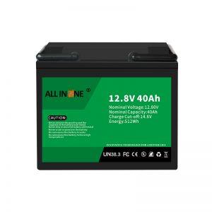 Замена литијум -јонске батерије 12,8 В 40Ах ЛиФеПО4, оловна киселина 12В 40Ах