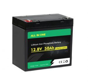 Све у једном Лифепо4 батерија 12в 50ах дубоки циклус