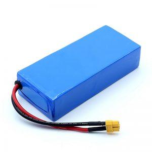 Пуњива висококвалитетна 12в литиј-јонска батерија од 12Ах 3С6П литијум-јонске батерије
