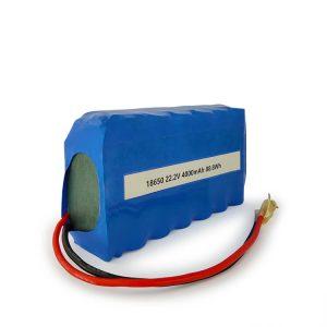 Прилагођена ИЦР18650 литијум-јонска батерија 6С2П пуњива 22,2в 4000мАх литијум-јонска батерија