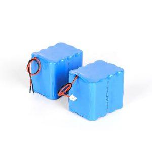 Прилагођена пуњива литијумска батерија 18650 лиј-јонска батерија са 3с4п 12в великим пражњењем