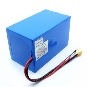 Литијум-батерија 18650 48В 51.2АХ 24в 30В 60В 15ах 20Ах 50Ах Ли-ион батерија 18650 48В литијум-јонска батерија за електрични скутер