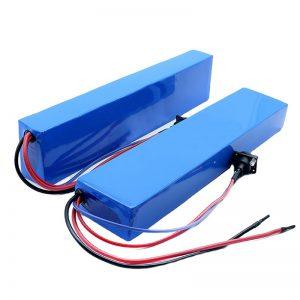 АЛЛ ИН ОНЕ 13С4П 18650 е-бике 384в батерија задњи носач ебике батерија 48в 8Ах
