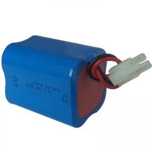 лифепо4 соларна батерија 6.4в 6ах 2С2П преносива
