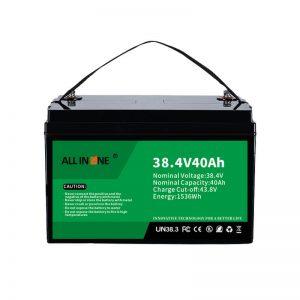 8,4В 40Ах литијум -гвожђе -фосфатна батерија за ВПП/СХС/бродове/возила 36В 40Ах