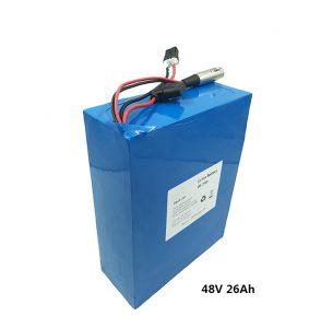 48в26ах литијумска батерија за етвов електричне скутере електрични мотоцикл графенска батерија 48 волт литијумска батерија произвођачи