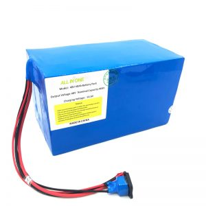 Прилагођена литијумска батерија од 18650 48В 40Ах за е-бицикл, е-чамац, електрични скутер