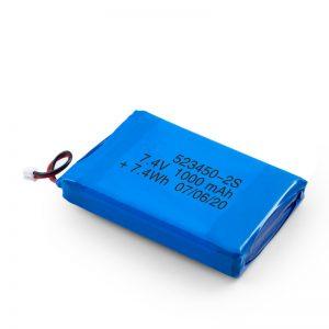 ЛиПО пуњива батерија 523450 3.7В 1000мАХ / 7.4В 1000мАХ / 3.7В 2000мАХ