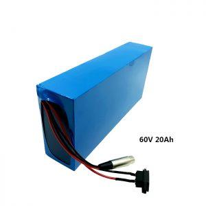 Прилагођено пуњење батерија 60в 20ах ЕВ литијумска