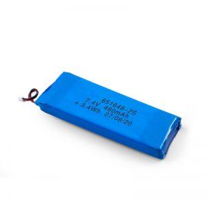 ЛиПО пуњива батерија 651648 3.7В 460мАх / 3.7В 920мАХ / 7.4В 460мАХ