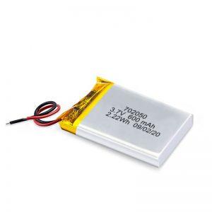 Кина велепродаја 3.7В 600Мах 650Мах мини Ли-полимер литијумске батерије пуњиве батерије за играчке аутомобила