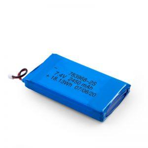 ЛиПО пуњива батерија 783968 3.7В 4900мАХ / 7.4В 2450мАХ / 3.7В 2450мАХ /