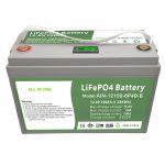 СВЕ У ЈЕДНОМ Дубоки циклус 12В100Ах ЛиФеПО4 батерија са интелигентним БМС за кућни систем за складиштење енергије