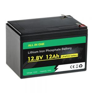 12В 12Ах пакет Заменљива оловна батерија ЛиФеПО4 батерија