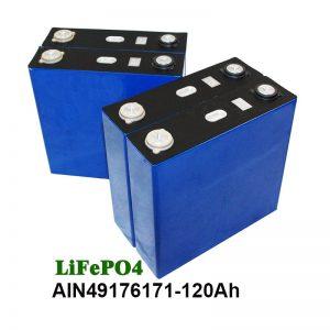 ЛиФеПО4 Призматична батерија 3.2В 120АХ за УПС соларни систем мотоцикла