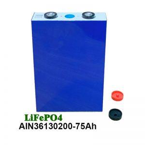 ЛиФеПО4 Призматична батерија 36130200 3.2В 75АХ