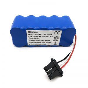 12в ни-мх батерија за усисивач ТЕЦ-5500, ТЕЦ-5521, ТЕЦ-5531, ТЕЦ-7621, ТЕЦ-7631